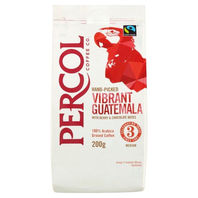 Percol Hand Picked Vibrant Guatemala Coffee