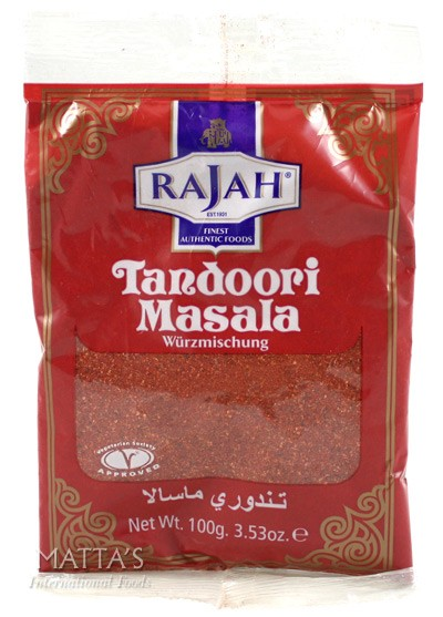 rajah tandoori masala 100g mattas. Black Bedroom Furniture Sets. Home Design Ideas